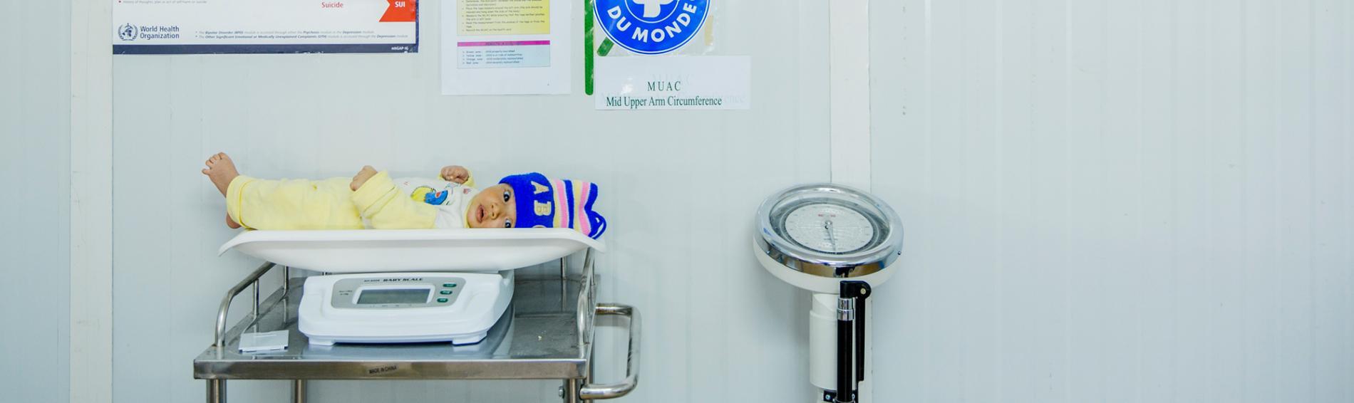 Ärzte der Welt hat Gesundheitszentren in den Lagern von Ramtha und Zaatari mit Medikamenten ausgestattet. Foto: Thierry Bois
