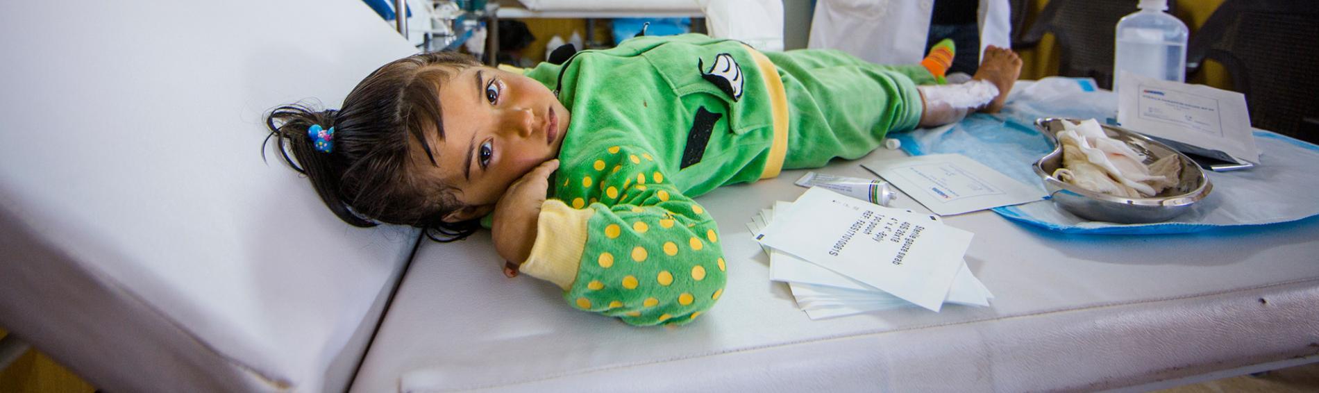Ärzte der Welt setzt sich für syrische Flüchtlinge in Jordanien ein. Foto: Thierry du Bois