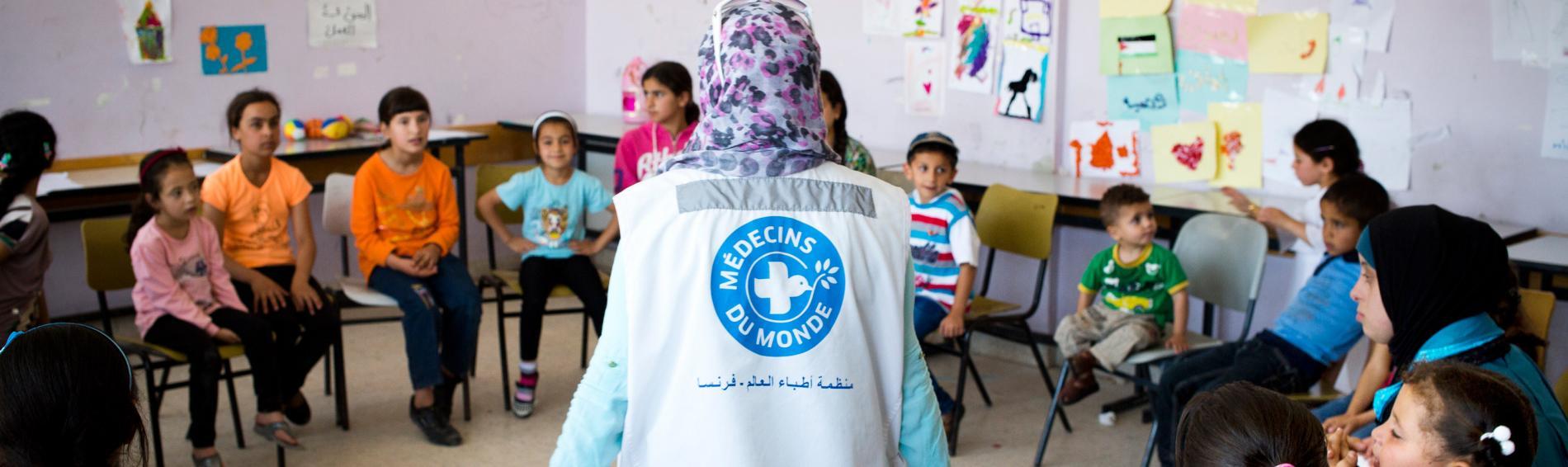 Mental Health Programm für traumatisierte und misshandelte Kinder. Foto: Bruno Fert