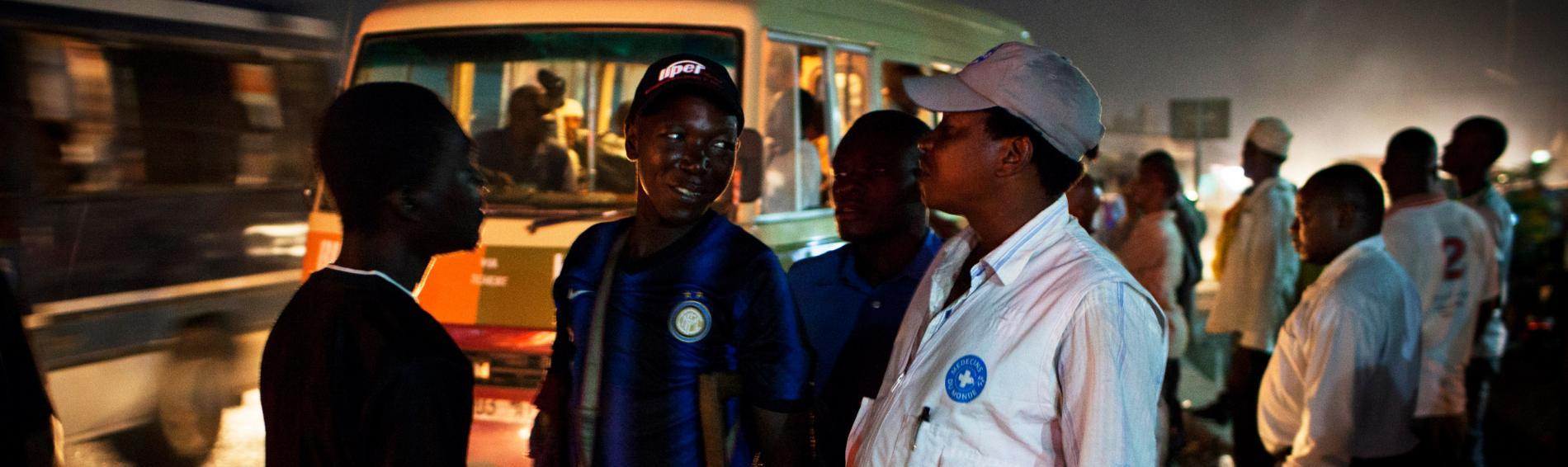 Ärzte der Welt hilft Risikogruppen in Tansania. Foto: William Daniels
