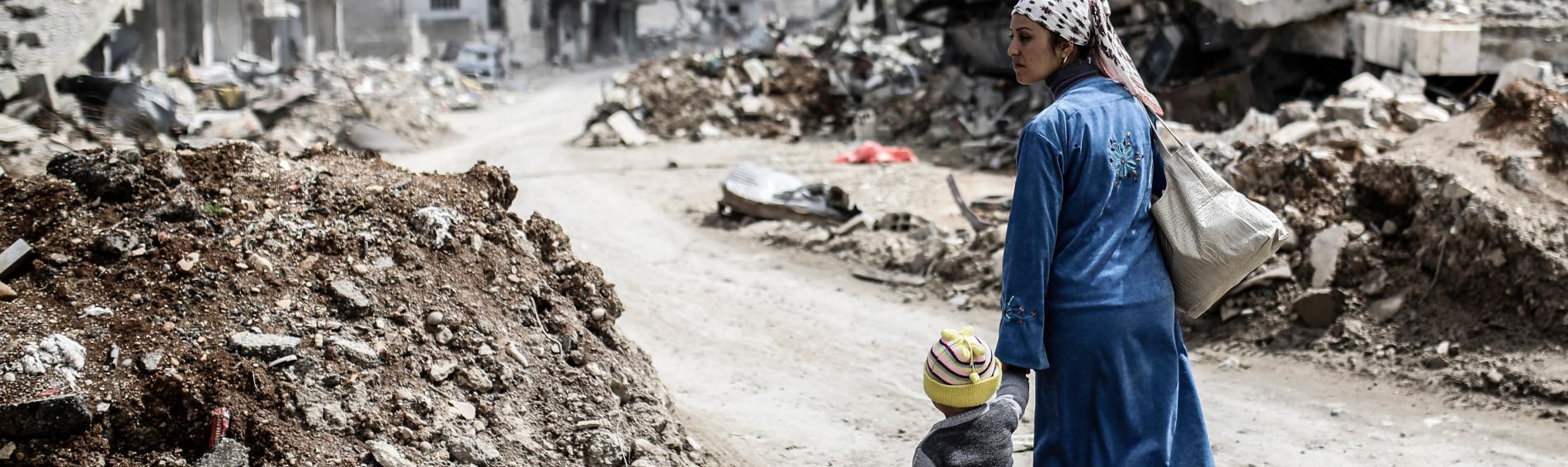 Seit Beginn des Konflikts in Syrien ist Ärzte der Welt vor Ort. Foto: AFP PHOTOS
