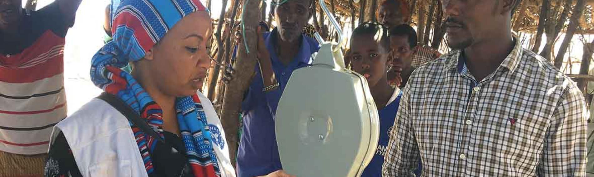 Medizinische Versorgung in Äthiopien. Foto: Ärzte der Welt.