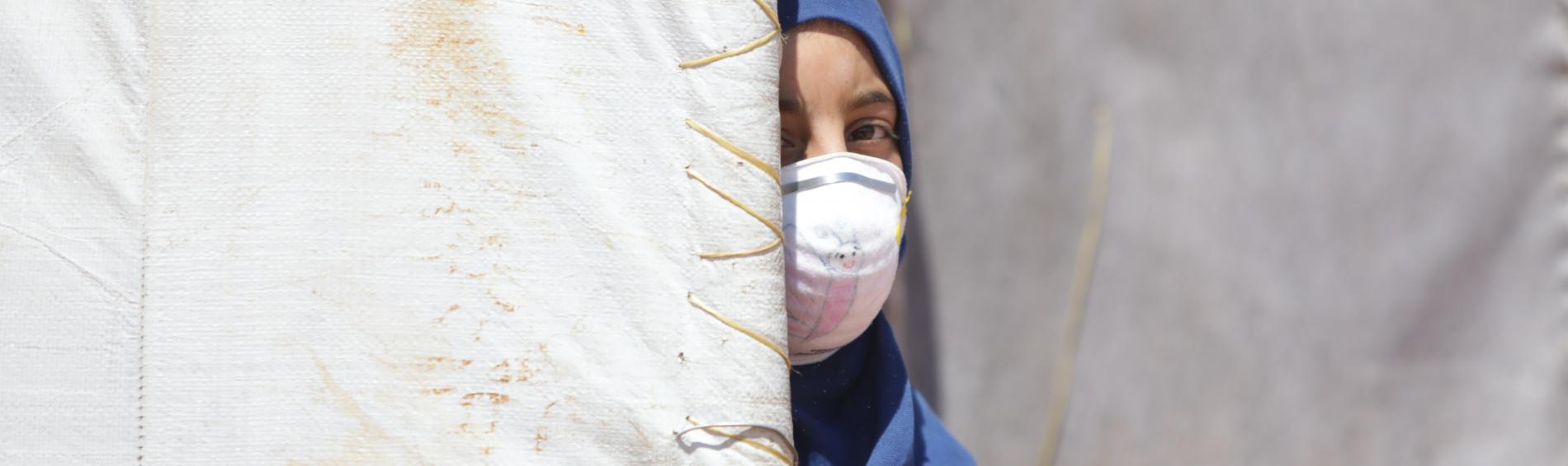Hunderttausende Geflüchtete haben in Syrien keine richtige Unterkunft. Foto: Bassam Khabieh / Reuters