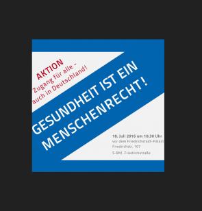 Die Aktion Zugang für alle - auch in Deutschland!
