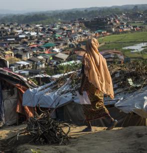 Cox's Bazar - Das größte Flüchtlingslager der Welt.  Foto: Arnaud Finistre