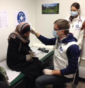 Flüchtlinge brauchen Schutz und Hilfe. Foto: Ärzte der Welt