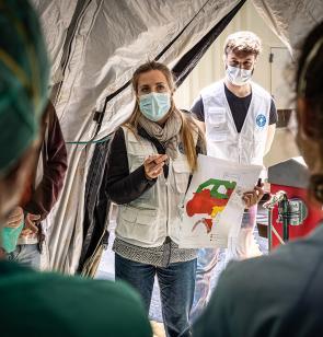 Ärzte der Welt Spanien ist in zehn Städten in Spanien aktiv. Foto: I. Marin