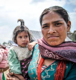 Nepel 2015: Mobile medizinische Teams waren sofort nach dem  Erdbeben in den Bergregionen Nepals im Einsatz. Foto: Quentin Top